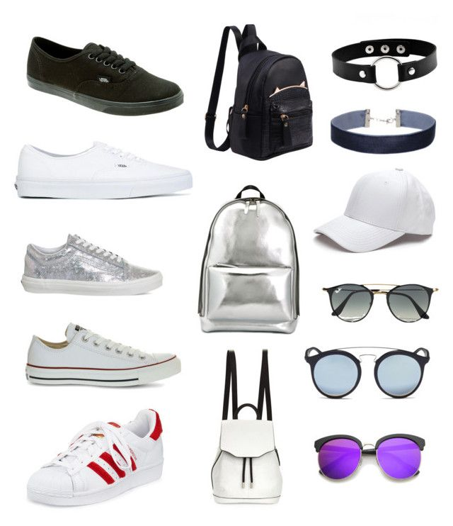 2.1 by maria-camila-fernandez-mejia on Polyvore featuring moda, Vans, adidas, Converse, 3.1 Phillip Lim, rag & bone, Miss Selfridge, Ray-Ban and ZeroUV