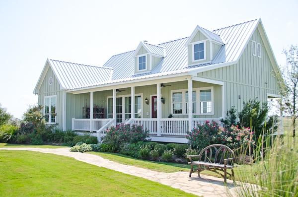 Texas casual cottages cottage 18 house paint color for Texas cottages builder