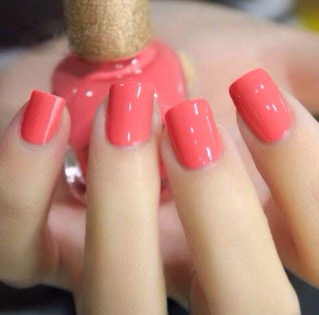 Yatto. ТВОИ МОДНЫЕ ЖЕЛАНИЯ. Блог Yatto.ru о моде и стиле: BEAUTY ХИТ - КОРАЛЛОВЫЙ МАНИКЮР