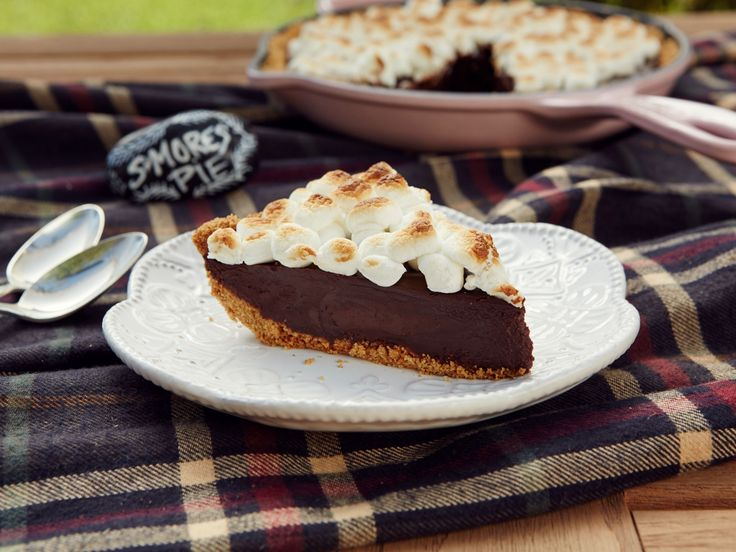 S'Mores Cast-Iron Pie recipe from Patricia Heaton Parties via Food Network