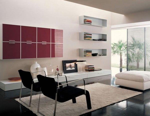 Modern Living Room Ideas with Maroon Accents. http://royalhouseinteriors.com/gathering-living-room-ideas-create-custom-living-room-decoration/modern-living-room-ideas-with-maroon-accents/ #LivingroomIdeas