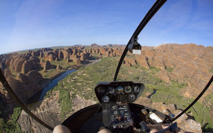 THIS: Our scenic tour plus an exhilarating flight above the Bungle Bungle Range