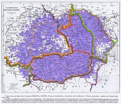 Roumanophones 1856 - Români - Wikipedia