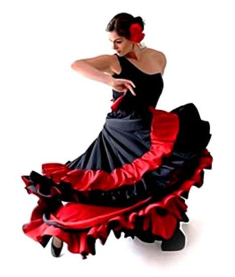 Костюм испанского танца картинки