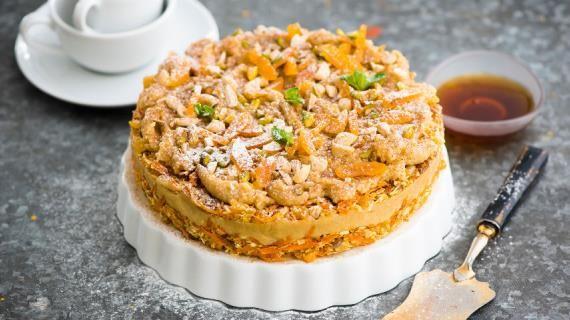 Сыроедческий веганский морковный торт с «сыром» из кешью, пошаговый рецепт с фото