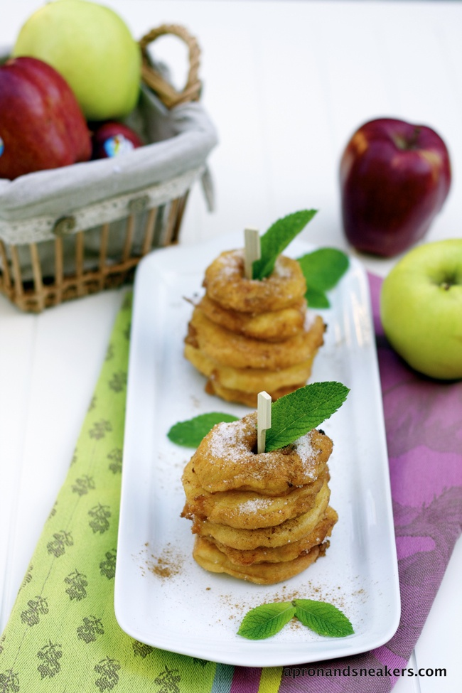 Apple Fritters by @Rowena Dumlao Giardina (Apron and Sneakers)