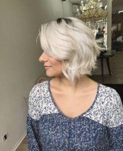 40 umwerfende kurze Frisuren für dickes Haar –  – #Kurzhaarfrisuren