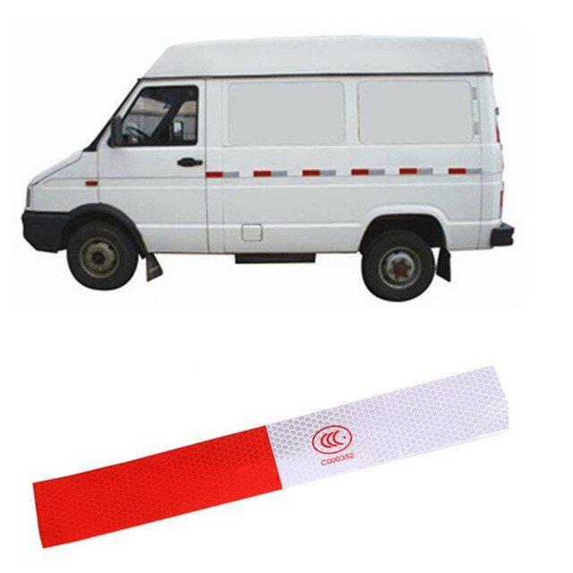 10pcs 5 30cm Car Truck Full Body Reflective Stickers Car