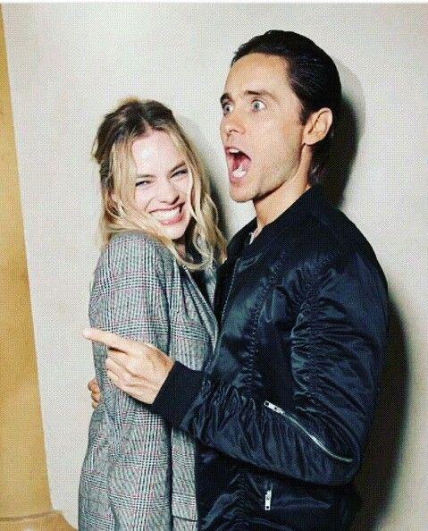 Jared Leto & Margot Robbie ❤❤