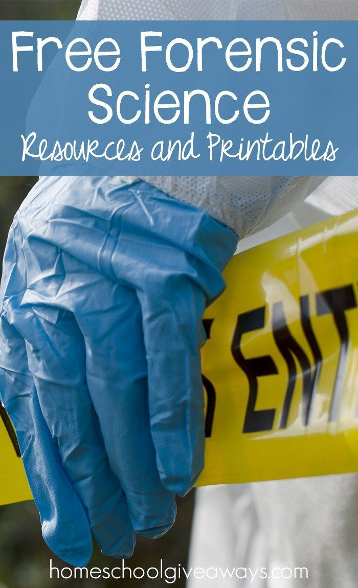 FREE Forensic Science Resources and Printables