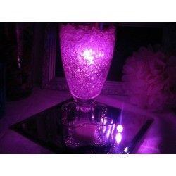 Vedenkestävä led valo pinkki