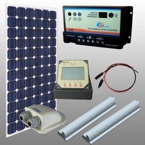 Kit fotovoltaico solare camper 100w Regduo con pannello flessibile