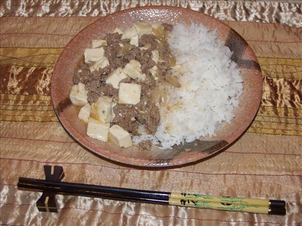 Mapo Dofu: Spicy Tofu With Meat Sauce (Szechwan Style)- I used to get ...