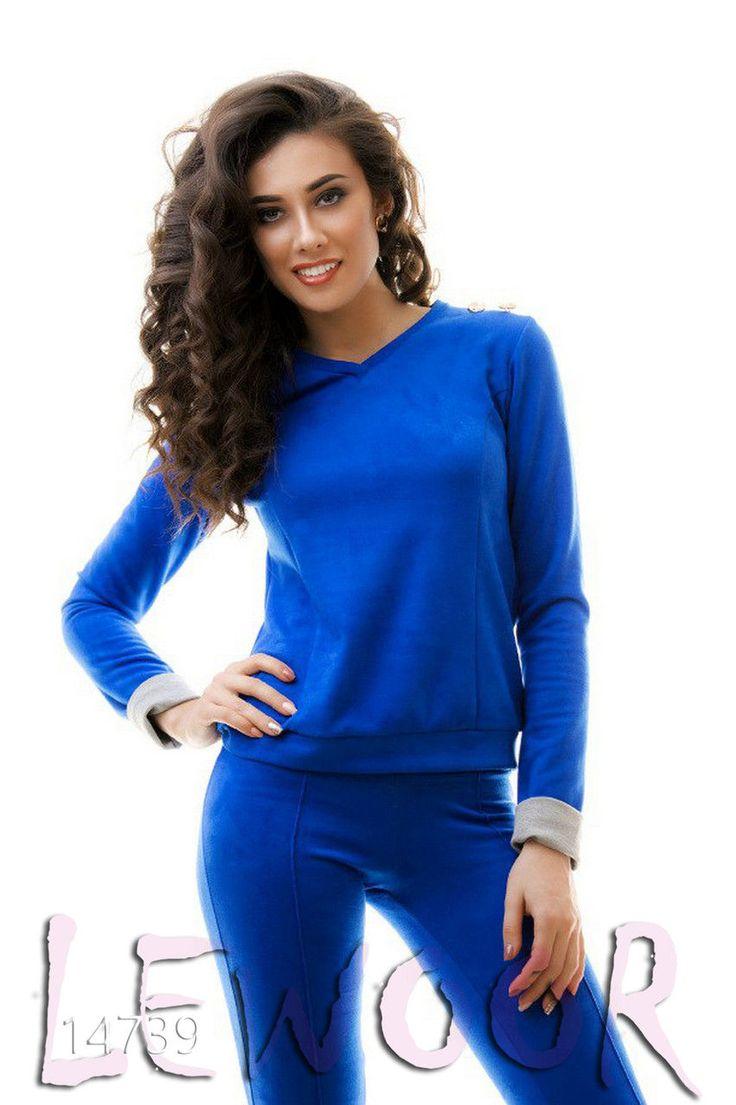 Замшевый костюм двухсторонний - купить оптом и в розницу, интернет-магазин женской одежды lewoor.com
