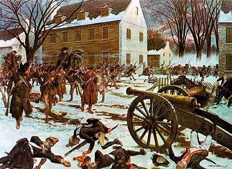 American Revolution Battles | The American Revolution - (The Battle of Trenton )
