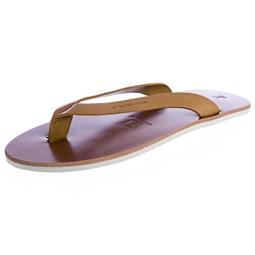 GSTAR Raw Womens Correct Line Flip Flops Sandals GS83100022 Size 6 Camel >>> You can get additional details at the image link.