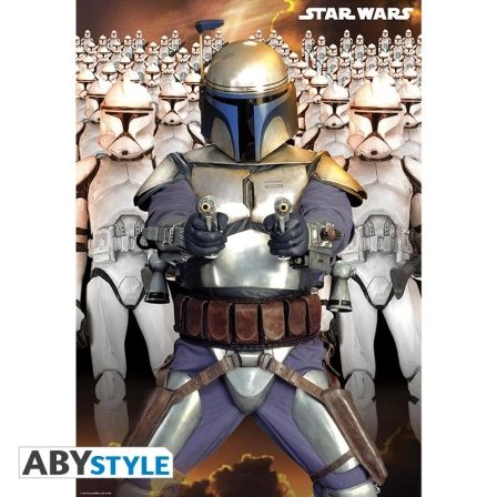 STAR WARS Poster Star Wars Jango Fett Army (98X68)