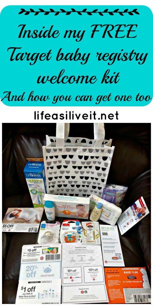 Target Baby Registry Welcome Kit. Target. Target Registry. Baby Registry.  Free.