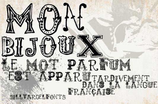 Monbijoux   dafont.com