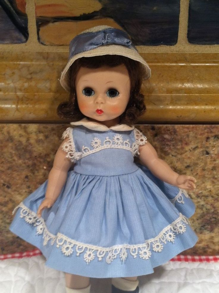 MADAME ALEXANDER   WENDY TIME FOR SCHOOL 1957 MINT #MadameAlexander
