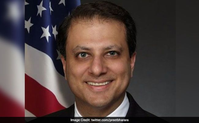 """Mr Bharara, who has earned the reputation of a """"crusader"""" prosecutor, had met President Trump in November after his electoral victory."""