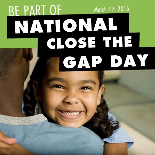 Today is the National Close The Gap Day! Be part of this celebrate and find an event near you!