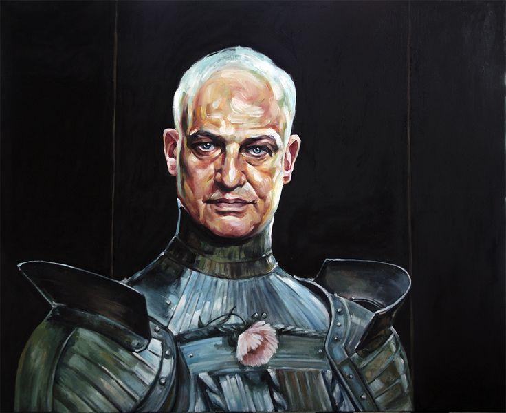 One of my oil paintings: Luc Tuymans - tribute to Jacek Malczewski, the greatest Polish painter, symbolist. More: www.annakmita.com