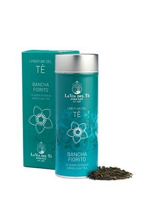 Miscela armoniosa di tè verdi e fiori di gelsomino, dal gusto fresco di frutta.