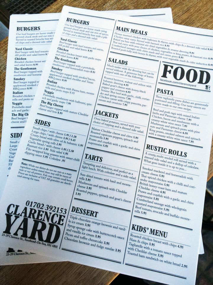 The Clarence Yard - Southend-on-Sea