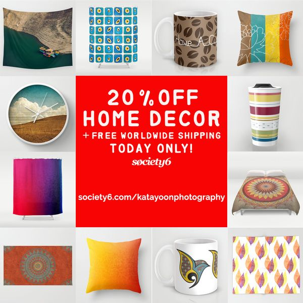 Last Day of Holidays Sales! 20% OFF HOME DECOR + FREE WORLDWIDE SHIPPING - ENDS TONIGHT AT MIDNIGHT PT! #specialoffer #sale #discount #freeshipping #awesomedeals #holidayshopping #christmasshopping #realbargain #lastminutedeals #homedecor #decor #beautifulhomes #beautifulhouses #beautifulbedrooms #beautifulrooms #beautifulkitchen #beautifulbathroom #bathroomdecor #bedroomdecor #artshop #artsyhomes #wallart #artprint #showercurtain #wallclock #mugs #giftideas #giftforher #giftforhim #stylish