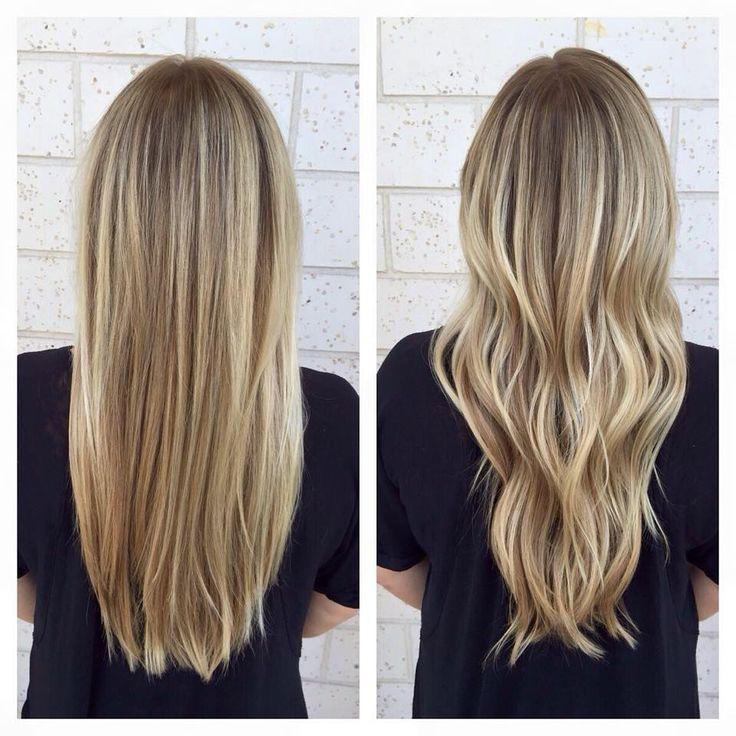 Bright Blonde Balayage - Straight or Curly - JACKSONVILLE BEACH FL 32250 @frangipanihairstudio