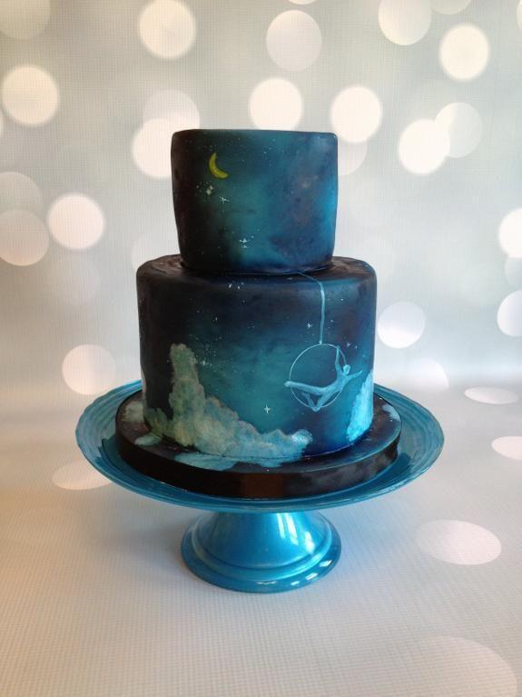 Airbrush Cake Decorating Designs : 109 best dort airbrush images on Pinterest Airbrush cake ...