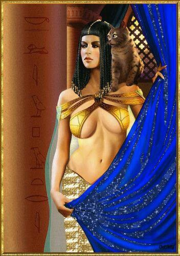 Isis - Goddess of Magic and Nature. Friend of slaves, sinners, artisans and downtrodden / Egyptian Mythology