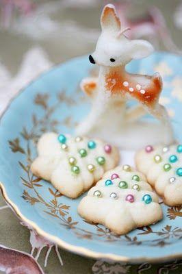 #christmas #tree #cookies #vintage #deer