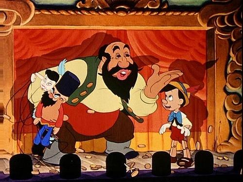"Stromboli, ""Pinocchio"", Walt Disney Pictures"