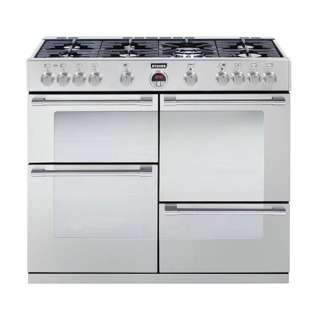 stoves sterling r1100gt gas range cooker stainless from Online Shopping Kitchen Appliances