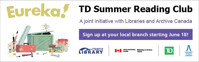 Registration is underway for the 2014 TD Summer Reading Club at Calgary Public Libraries!