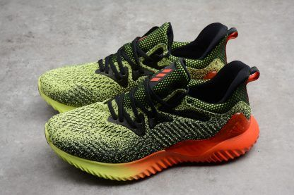 detailing 3feac 82bf2 adidas Alphabounce Beyond Yellow Solar Red Black Running Shoes B27815-3