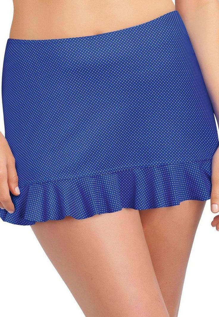 Cherish Cobalt Skirt (AS3367) swim skirt by Freya available in Mambra / Kąpielowa spódniczka Cherish Cobalt marki Freya, dostępna w Mambra.