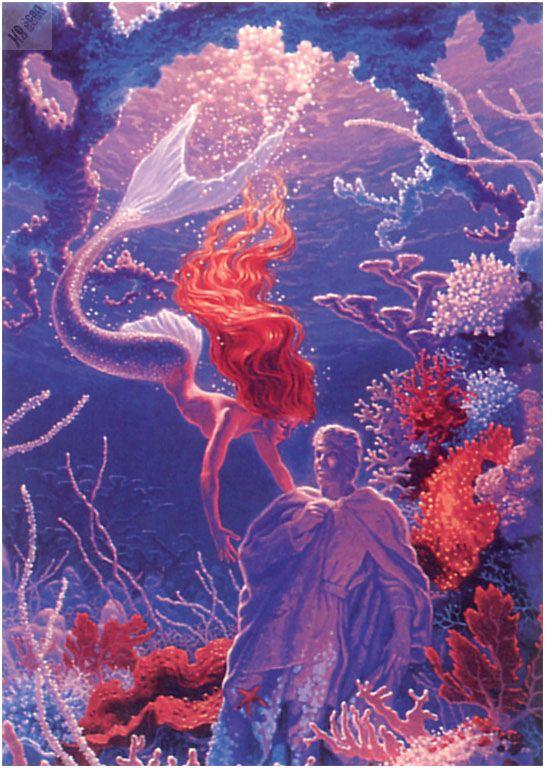 """The Little Mermaid"" by Greg Hildebrandt"