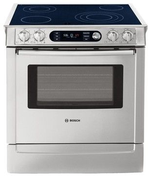 bosch 30 quot slide in range gas ranges and electric