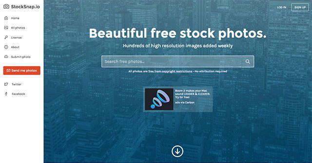 ロイヤリティフリー写真限定!完全無料のフォトストックサイト
