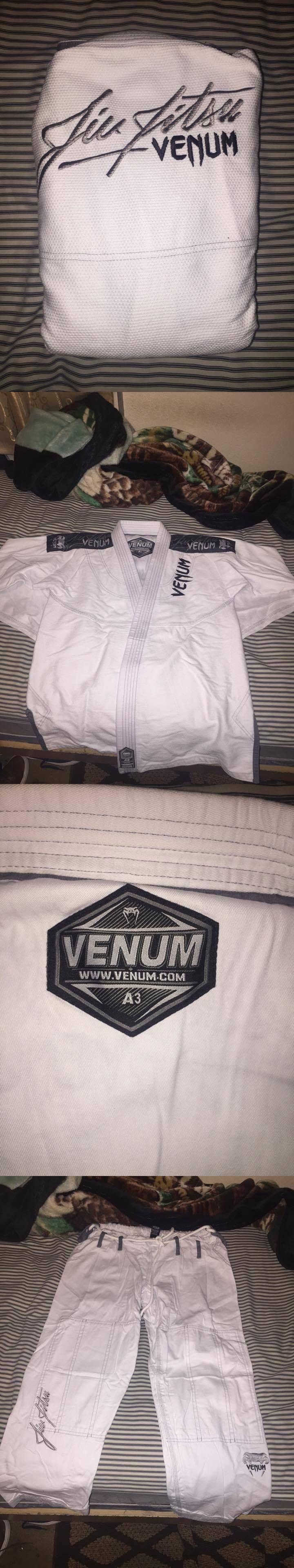 Uniforms and Gis 179774: New! Venum Jiu Jitsu Gi -White A3 Pants And Jacket- Brand New -> BUY IT NOW ONLY: $100 on eBay!