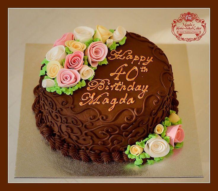 Tort kawowo - czekoladowy. Zapraszam do mojej galerii - kliknij i polub na Facebook'u http://ift.tt/2iOM9eB http://ift.tt/2iUmGRz #BirthdayCakeSmash #MagdasCakes #Northampton