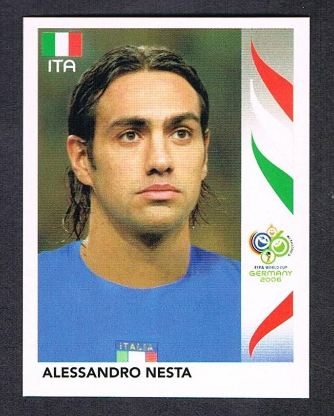 Image result for germany 2006 panini italy