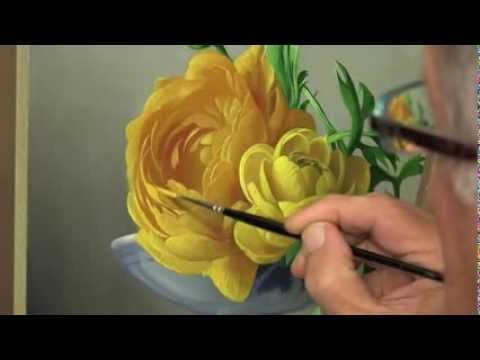 ▶ How to paint a Flower - YouTube