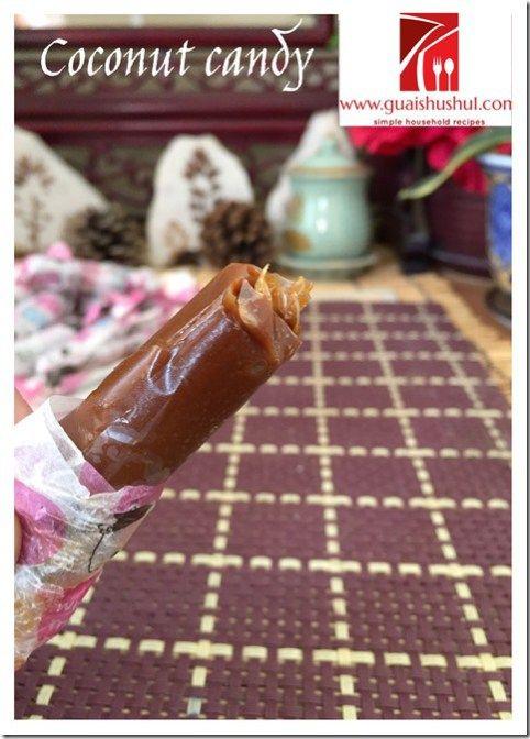 Old Timer Delights: Soft Coconut Sweets or Candy (古早味椰子软糖)