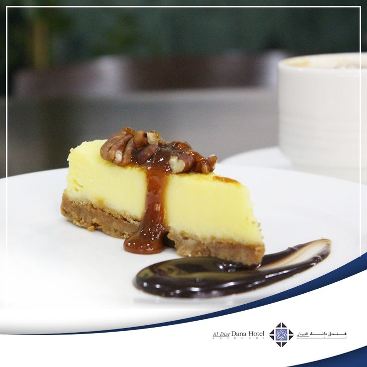 Have a sweet tooth? End your meal with our 'Special cheesecake' pastry of the month at Marigold Restaurant, Al Diar Dana Hotel. That's a dessert to remember!