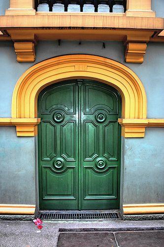 puerta Paraninfo Universidad de Antioquia