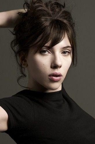 Scarlett Johansson - black hair